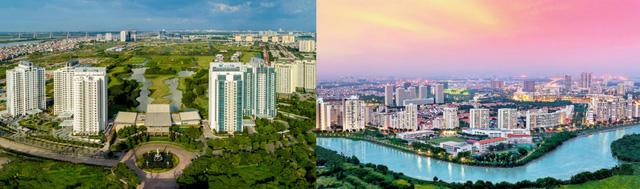 Ciputra Hà Nội và Phú Mỹ Hưng TP.HCM – Hai điển hình trong tiên phong phát triển khu đô thị xanh đẳng cấp và tiện ích đồng bộ.
